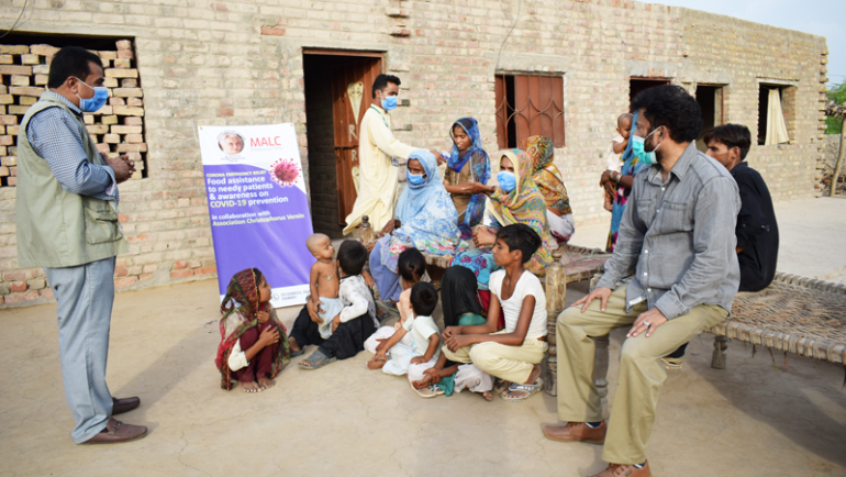 Food Assistance to needy patients in Tando Jan Muhummad, Sindh, in collaboration with Association Christophorus Verein, Switzerland