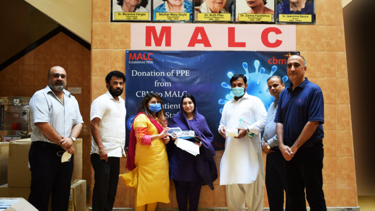 CBM International donates Personal Protective Equipment (PPE)