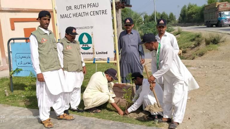 Tree Plantation Drive – MALC Kandhkot Centre