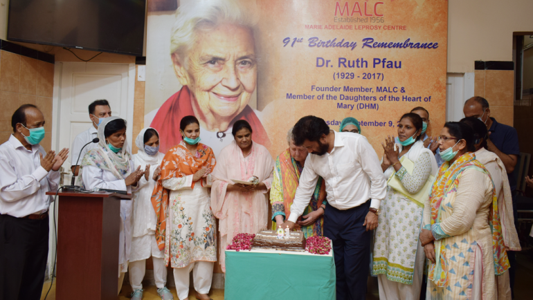 Dr. Ruth Pfau's 91st Birthday Remembrance