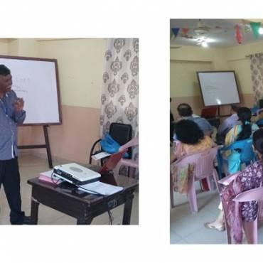 Leprosy/ TB/ Eyes workshop for teachers at St. Rita's School