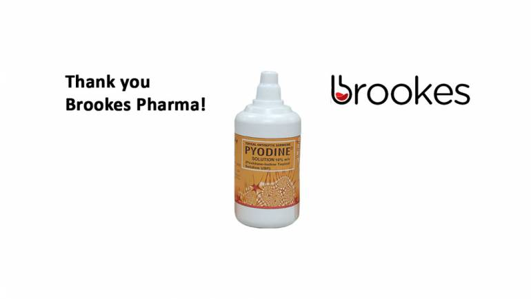 Brookes Pharma donates medicines for MALC patients