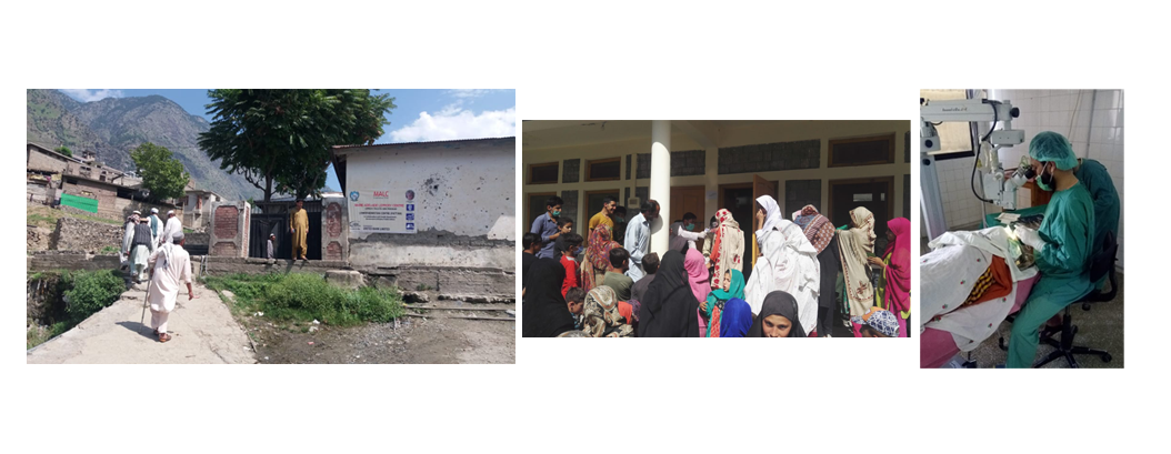 UBL Surgical Eye Camp in Kohistan, Khyber Pakhtunkhwa