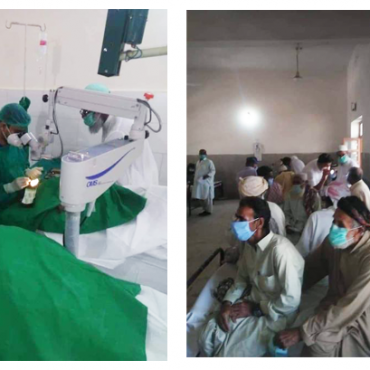Free Surgical Eye Camp in Turbat, Balochistan in collaboration with LRBT and the Provincial Health Department