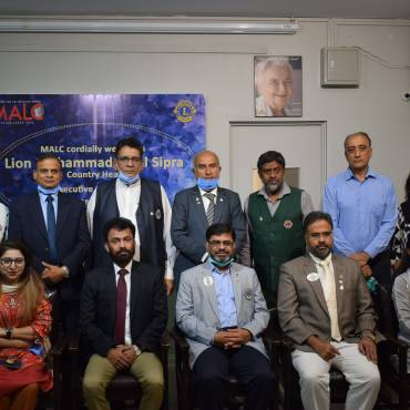 Lions Clubs International Pakistan visit MALC