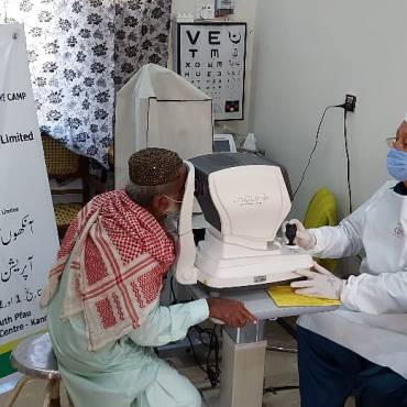Kandhkot Eye Surgical camp sponsored by Pakistan Petroleum Limited (PPL)